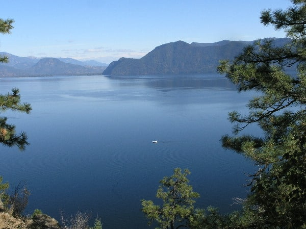 Lake Pend Oreille Mineral Point View