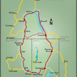 Drive the International Selkirk Loop!