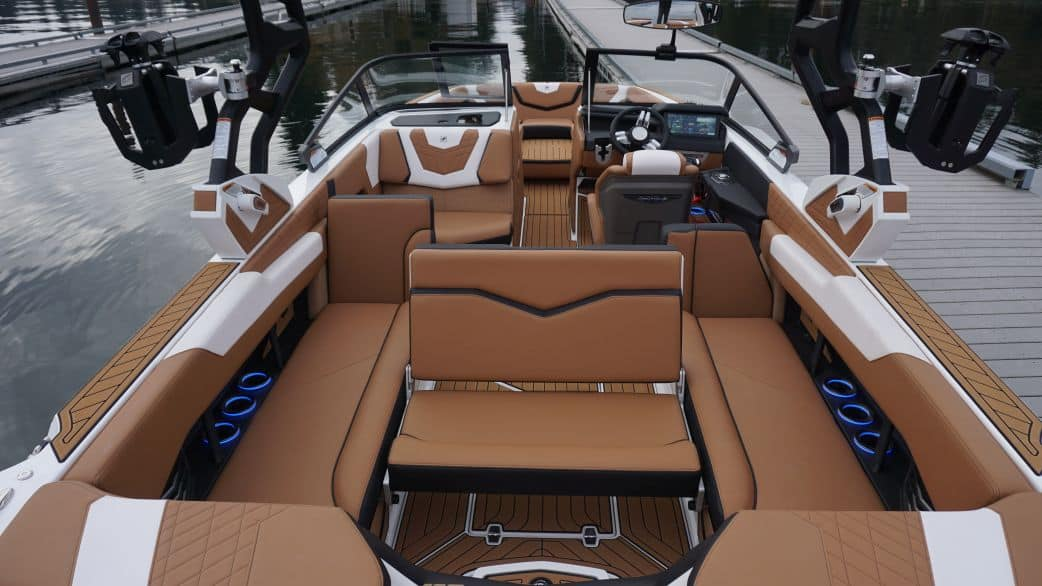 2021 super air nautique surf boat rental g25 coeur dalene rear facing seating
