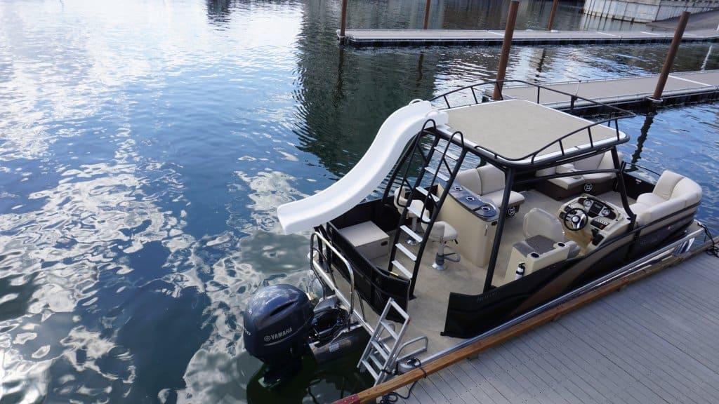 aloha sundeck cda rental tri toon water slide